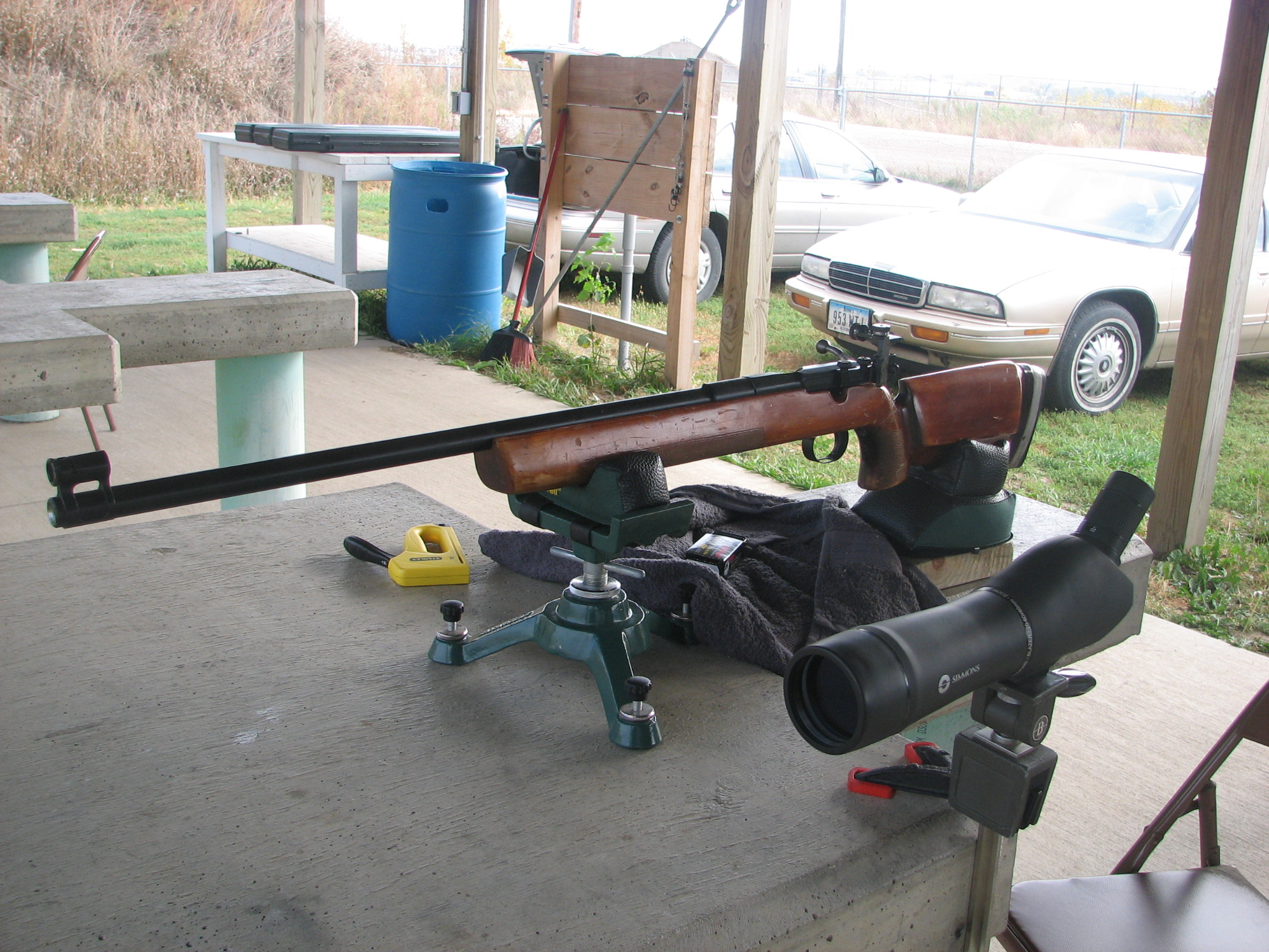 bench shooting portable rest bittercreek pin and